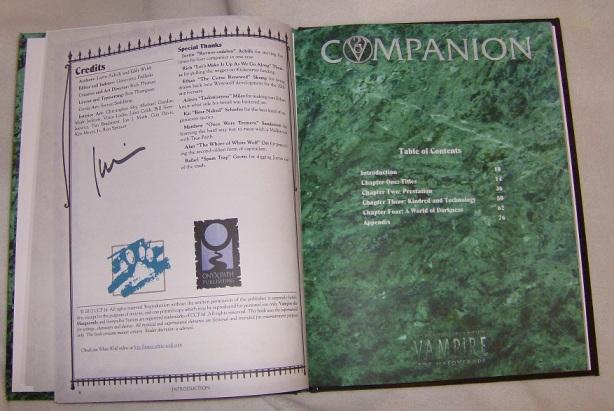 V20 Companion ToC