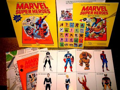 Marvel Super Heroes RPG Box