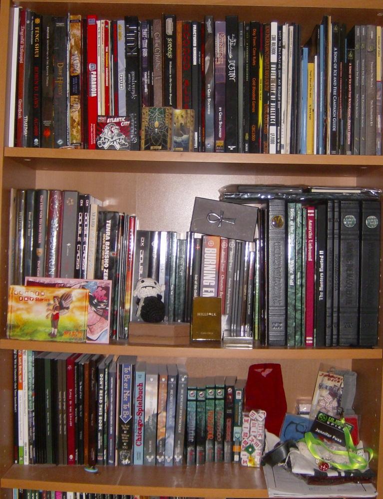 Mein RPG-Regal - 2015 (2/4)