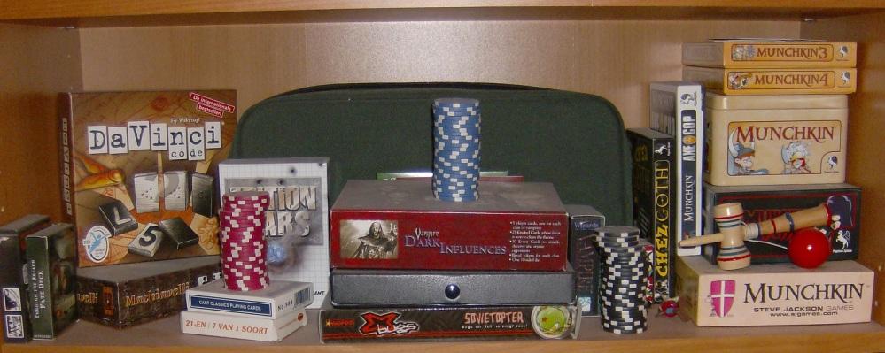 Mein RPG-Regal - 2015 (4/4)