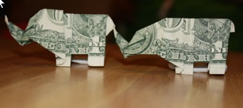 Geld Elefant