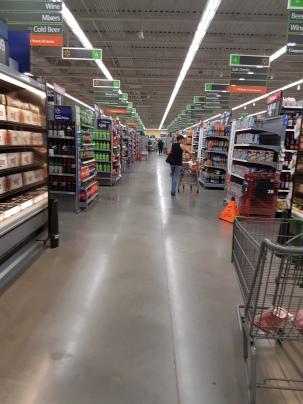 Kleiner Amerikanischer WalMart