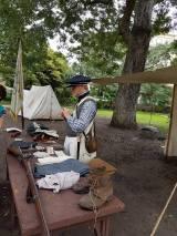 """Re-Enacter in der Uniform von """"französischen"""" Truppen aus New Orleans"""