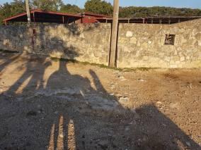 Der Schatten des vorletzten Ausritt