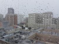 Es war nicht nur grau, es regnete