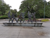 Denkmal für die New Orleans Jazz Kapellen