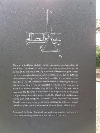 Der Obelisk war da leider nicht