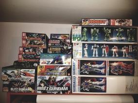 Die GunPla Sammlung, ohne Malifaux