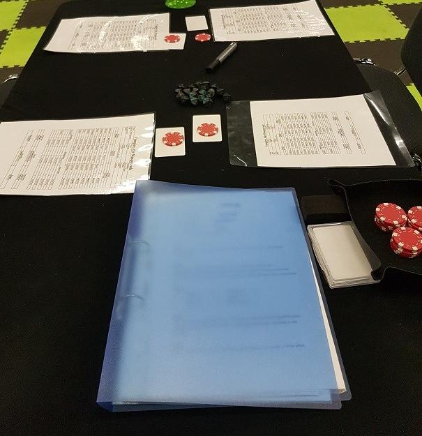 V5 Playtest - Tischaufbau