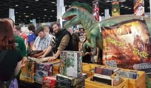 Dino Action am Ulisses Verkaufsstand