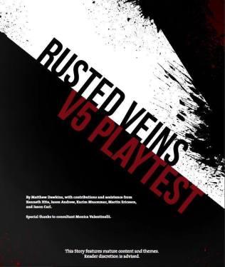 V5 Rusted Veins Deckblatt