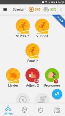 DuoLingo Status