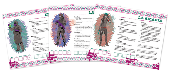 Cartel - Drei Playbooks, El Cocinario, La Polizieta & La Sicaria