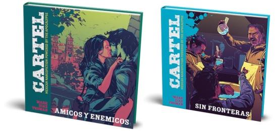 Cartel: Amigos y Enemigos (links) und Sin Fronteras (rechts)