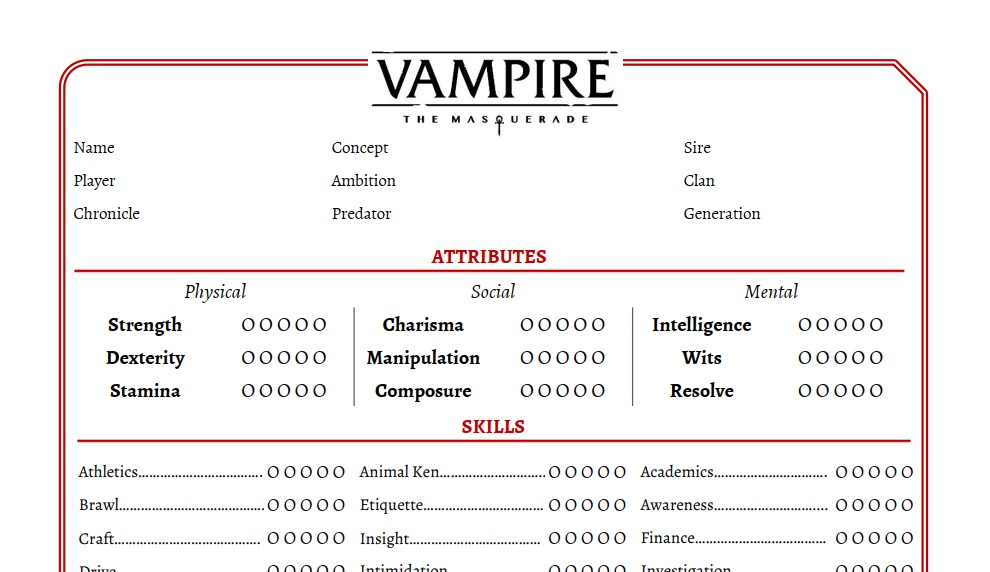 picture about Printable 5e Character Sheet known as Custom made temperament sheet PDFs for V5 Teylens RPG Corner